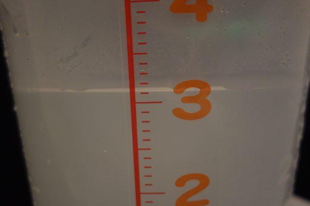 ノーマルシャワーヘッド約3.1リットル